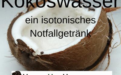 Notfall Dehydration – Kokoswasser